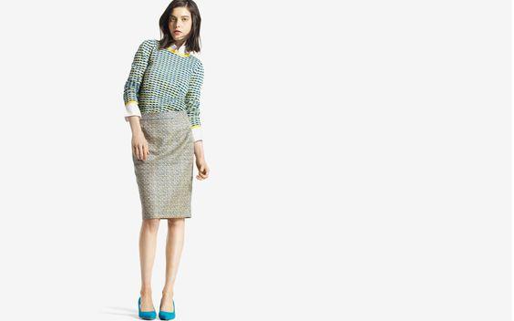 Joe Fresh cool sweaters & fun heels