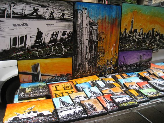 Amazing art - street vendor