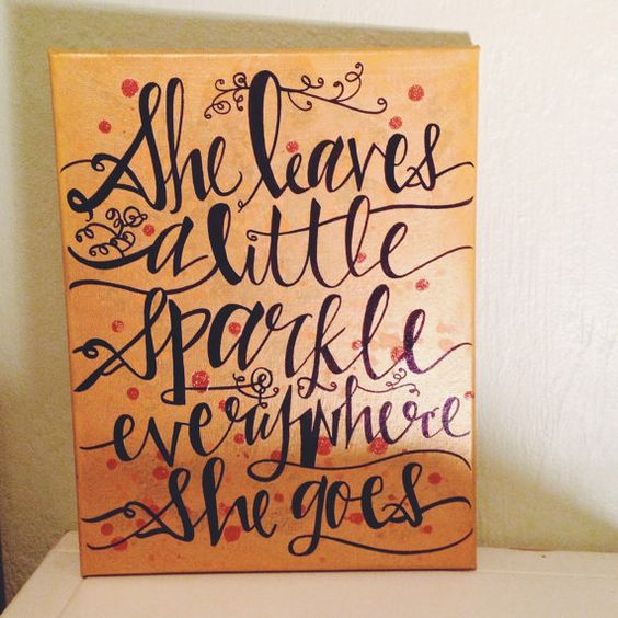 RESERVED She leaves a little sparkle by JingerBreadHouse on Etsy