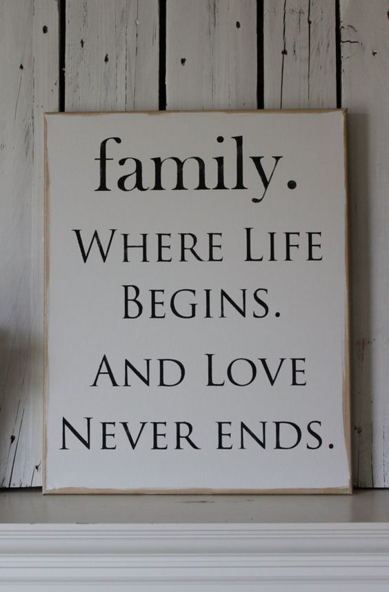 Love your family, Families and Love your on Pinterest