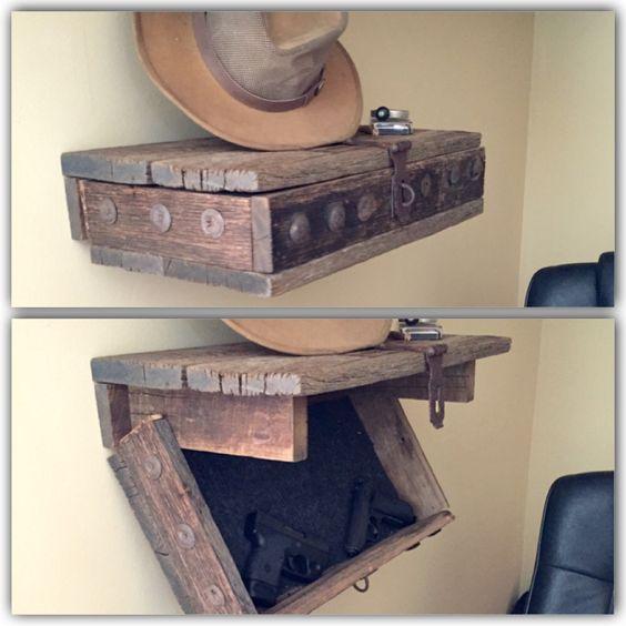 Hidden Gun Shelf Hidden Gun Safe Pinterest Hidden