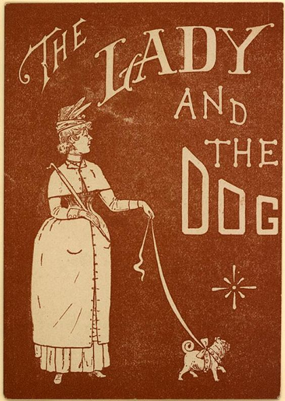 The Lady and the Dog (A0174) - Emergence of Advertising in America - Duke Libraries