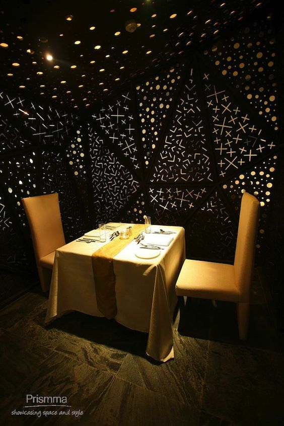 Under the stars boutique hotels and ceiling design on for Hotel ceiling design