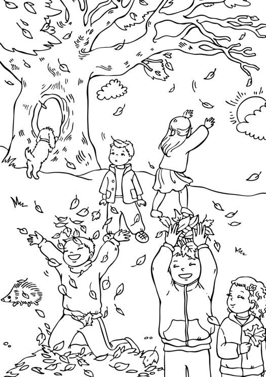 19 Best Fall Coloring Pages For Kids Updated 2018 Malvorlagen Herbst Herbst Ausmalvorlagen Malvorlagen