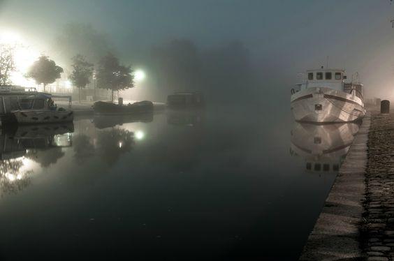 L'Erdre dans le brouillard