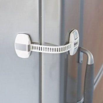 babydan multi use adjustable child door lock. Black Bedroom Furniture Sets. Home Design Ideas