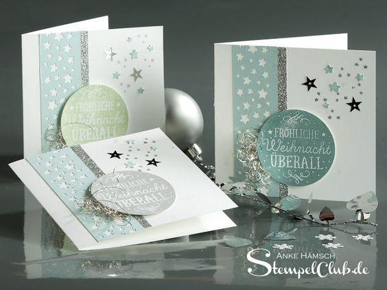 Adventskalender, Weihnachtskarten, Zwischen den Zweigen, Stampin up ...