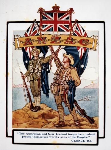 Why did Australia choose to fight in WWI ?