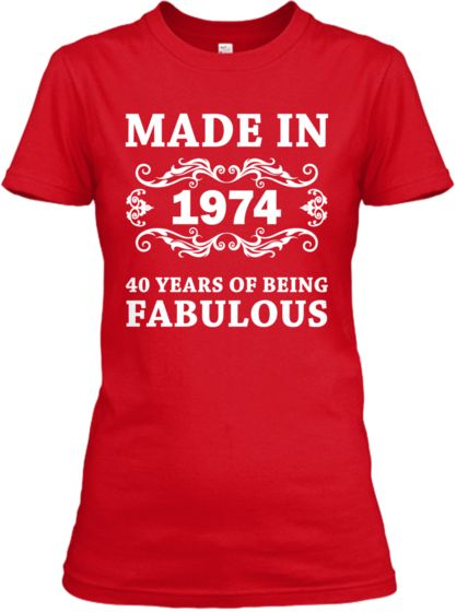 Made in 1974 Limited Edition