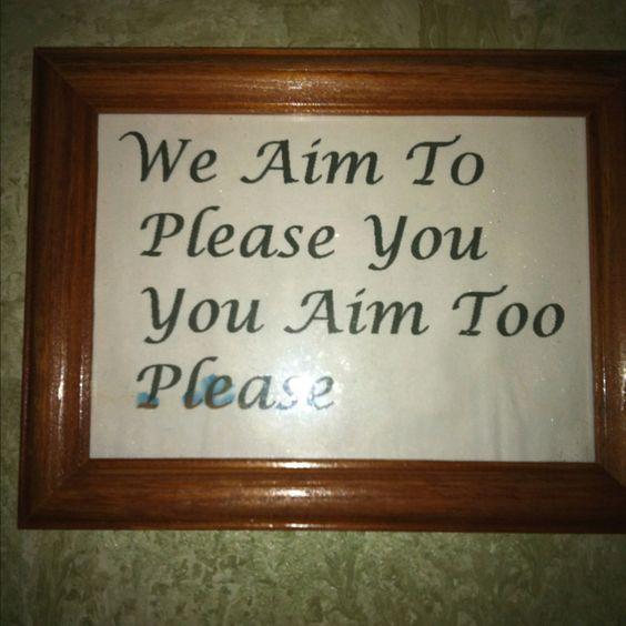Bathroom Signs Signs And Bathroom On Pinterest