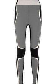 Kina color-block stretch-jersey leggings
