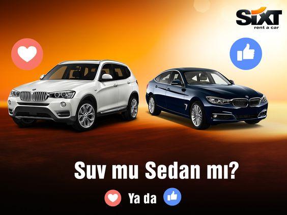 Her zevke göre araçlar Sixt rent a car'da. Sizin tercihiniz hangisi? #Sixt #Sixtrentacar