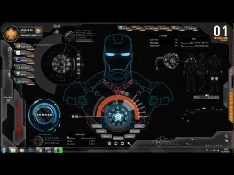 How To Install The Jarvis Iron Man Theme On Windows 7 Youtube Wallpaper Pc Iron Man Wallpaper 3d Wallpaper For Pc
