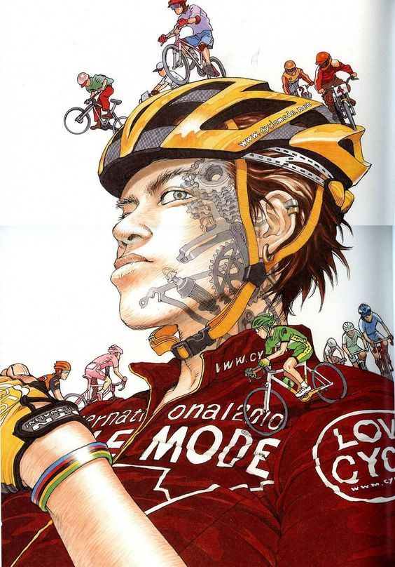 Bicycle art by Katsuhiro Otomo
