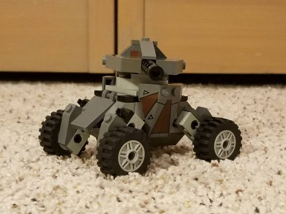 The Armoury: [HPH2018] Röch Autonomous Tankette, by RunsWithLegos