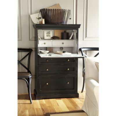 A great secretary for a small space...I would love this for my bedroom because it can be closed and has great storage.