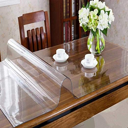 Fnice Multi Size 1 5mm Thick Custom Clear Pvc Table Cover Mat
