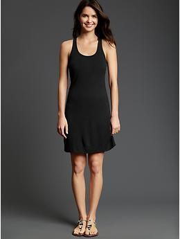 racerback dress from gap