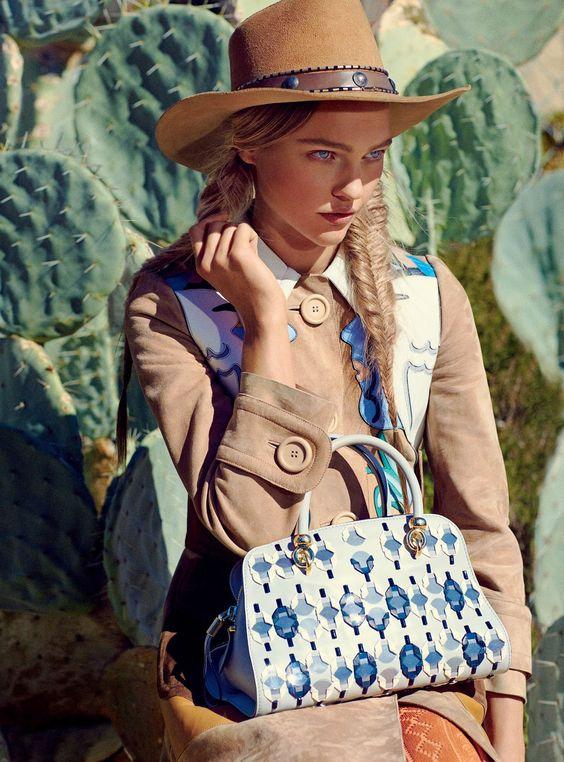 cowgirls - visual optimism; fashion editorials, shows, campaigns & more!: portrait of the artist: sasha pivovarova by mikael jansson for vogue february...