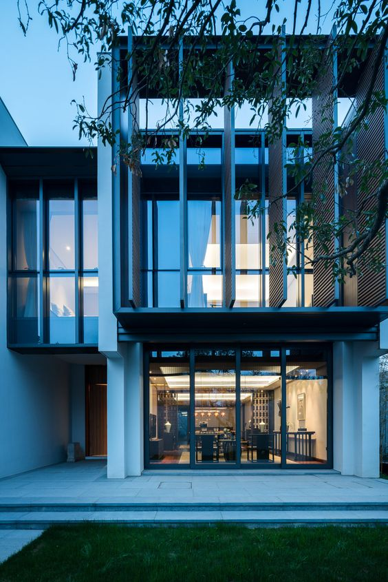 Suzhou villas and singapore on pinterest for Architecture firms in singapore