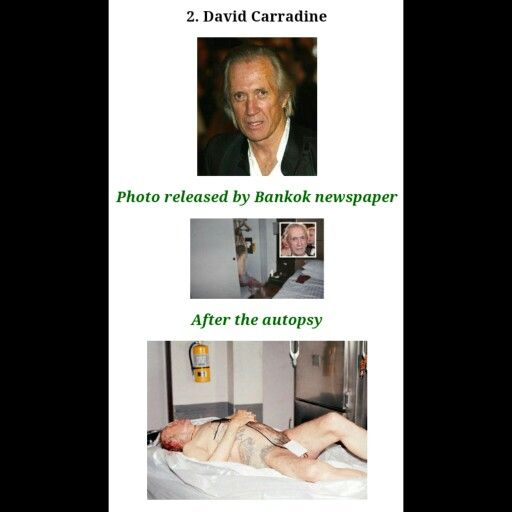 Carradine'S Naked Body Hanging In His Bangkok Hotel Room 41