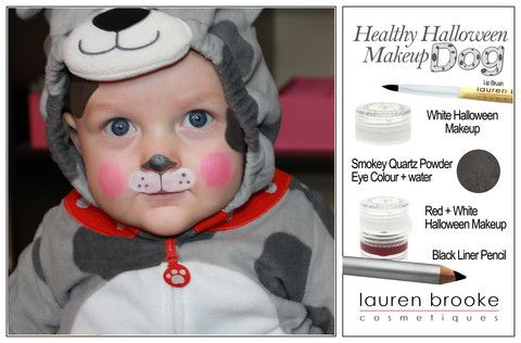 Puppy Dog tutorial with natural Halloween Makeup. Create a perfect ...
