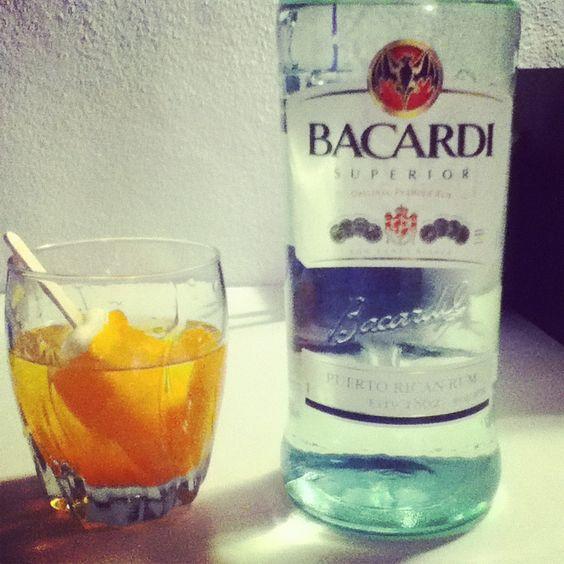 Ice Cream and Liquor, hot day. #Bacardi