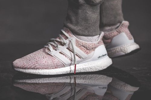 adidas Ultraboost 4.0 Candy Cane White Scarlet Pink Men