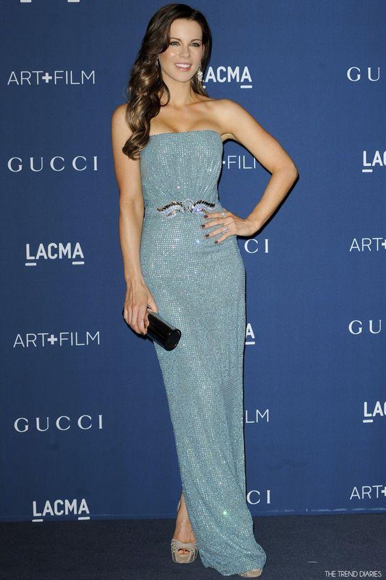 Kate Beckinsale at the LACMA 2013 Art   Film Gala Honoring Martin Scorsese And David Hockney held at the LACMA in Mid-Wilshire, Los Angeles, California - November 2, 2013