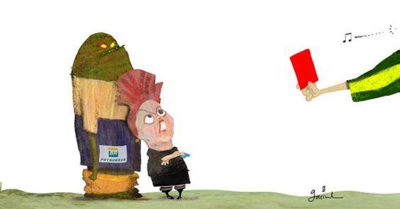 Garrincha Dilma protestas | Caricaturas - Yahoo Noticias: