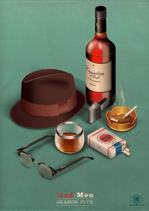 Unofficial Mad Men posters