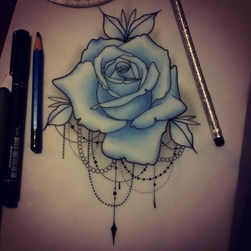 The gallery for neo traditional rose tattoo designs for Neo traditional rose tattoo