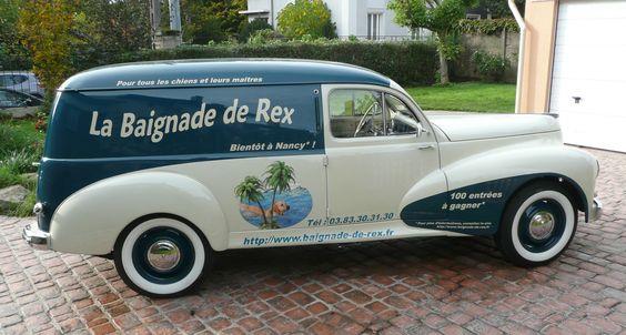 Peugeot 203 Fourgonnette 1954 ✏✏✏✏✏✏✏✏✏✏✏✏✏✏✏✏ IDEE CADEAU / CUTE GIFT IDEA  ☞ http://gabyfeeriefr.tumblr.com/archive ✏✏✏✏✏✏✏✏✏✏✏✏✏✏✏✏