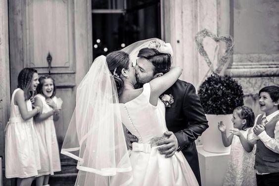 L'amore degli sposi, la gioia dei bimbi