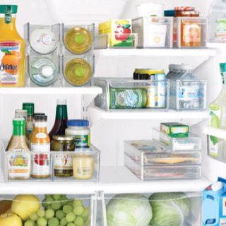 Fridge binz can't wait to organize my refrigerator!  Walmart sells them or google...