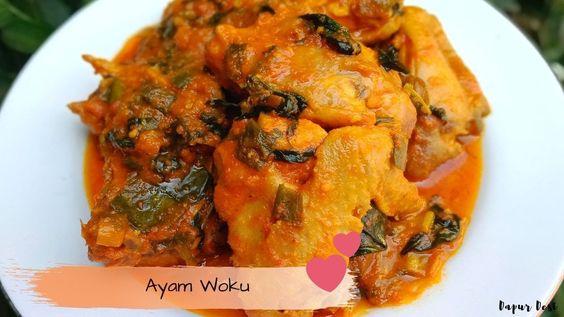 Resep Ayam Woku Pedas Nampol Di 2020 Resep Ayam Resep Ayam