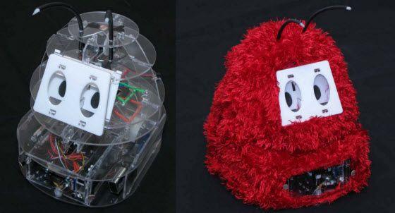 Romibo Robot Projectintroduces cuddly flashlight following social robot