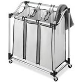 Found it at Wayfair - Laundry Sorter in Chrome