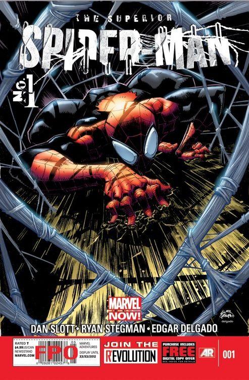 Dan Slott and Ryan Stegman Creative Team for SUPERIOR SPIDER-MAN - Comic Vine