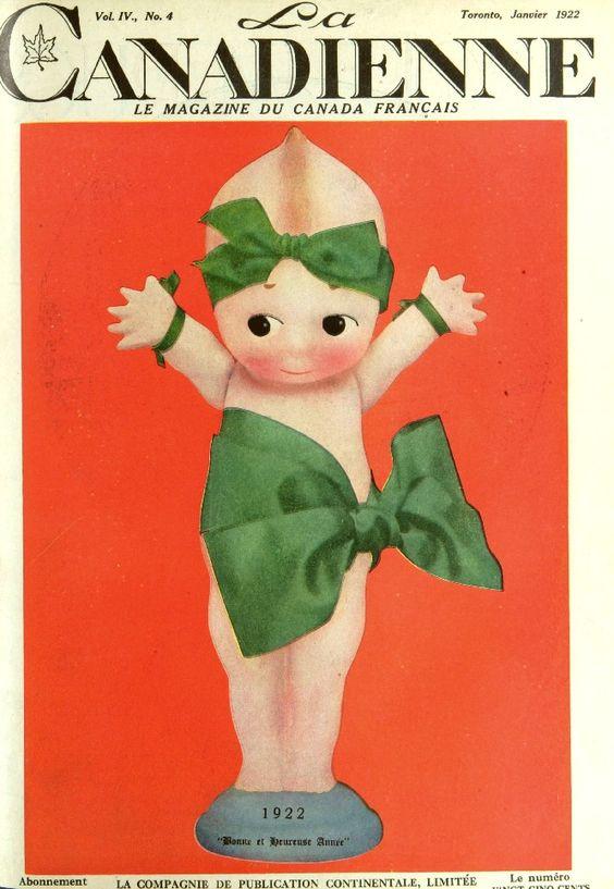 La Canadienne magazine 1922