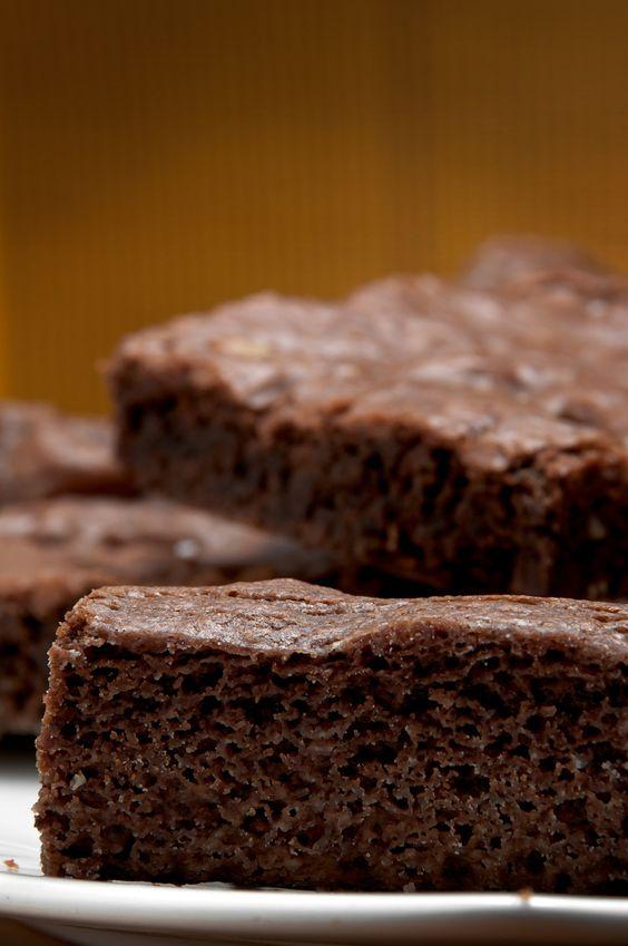 Estos brownies son deliciosos