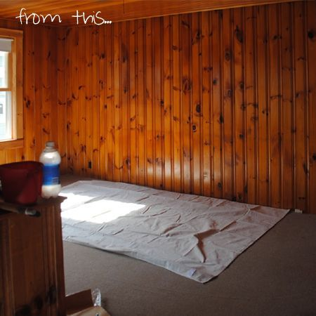 Tongue And Groove Pine Walls Paint Knotty Pine Or Tongue