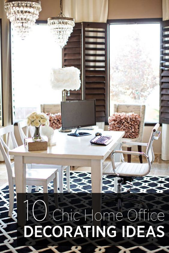 Fantastic Why? An Office That Reflects The Design And Comfort Of The Rest Of Your Home Is A Place Youll Want To Burn The Midnight Oil Here Are 10 Tips For Creating A Charming, Practical Work Space 1 Location, Location, Location Youll Likely Spend