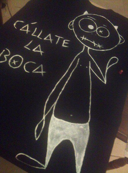 Camisetas pintadas a mano. Handmade