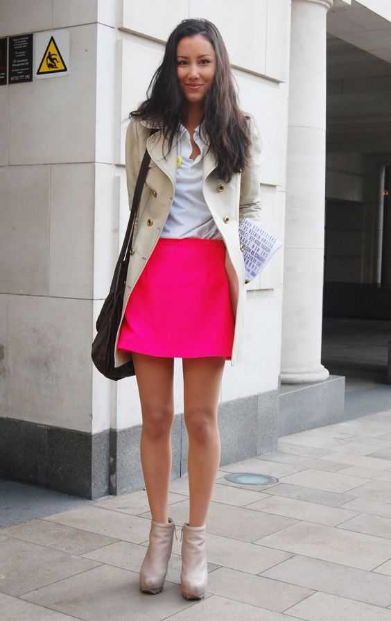 London-Fashion-Week-FW-12-Bright-Skirt