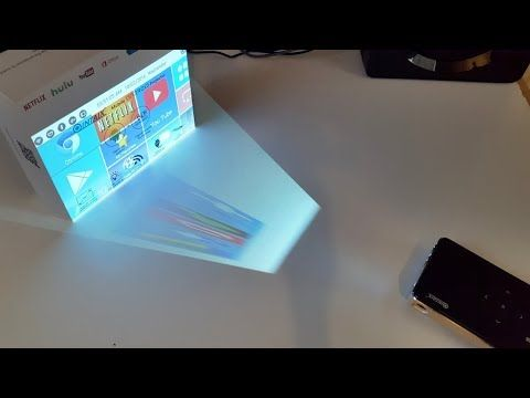 How To Make Smartphone Projector Without Magnifying Glass Using Bulb Shoe Box Bulb At Home You Smartphone Projector Phone Projector Diy Phone Projector