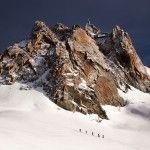 #chamonix landscape by Aurore Valance
