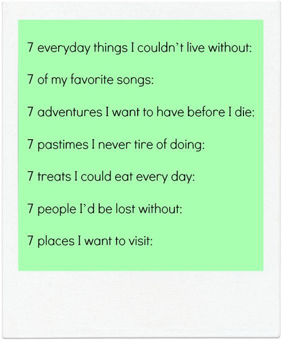 journaling prompts seven Prompts Pinterest Best Journaling ideas