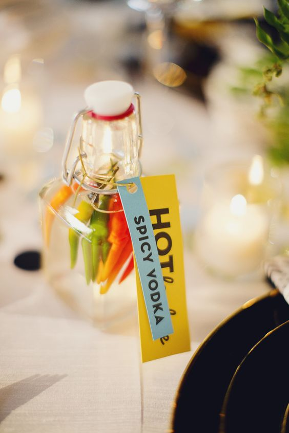 Project #2 from @Michelle Edgemont: Infused Vodkas and Labels    #crafts #holiday #pinspirationparty