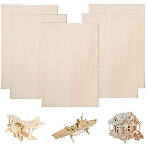 Fogawa Balsa Wood Sheets 300x200x1 5mm Unfinished Unpainted Basswood Plywood Thin Sheets Baltic Birch Plywood Fo In 2021 Balsa Wood Diy Wood Hobby Baltic Birch Plywood